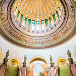 Illinois State Capitol HDR image